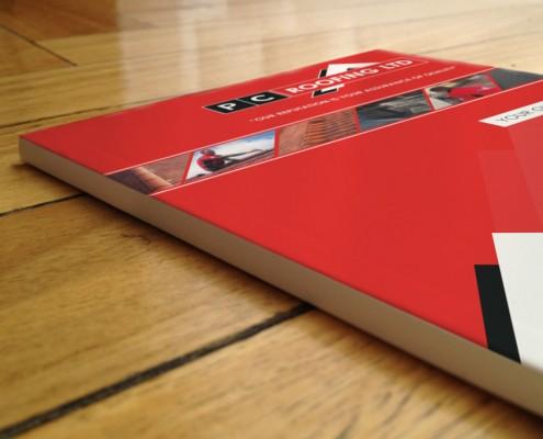 PC Roofing Folder Design
