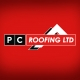 PC Roofing Logo Design