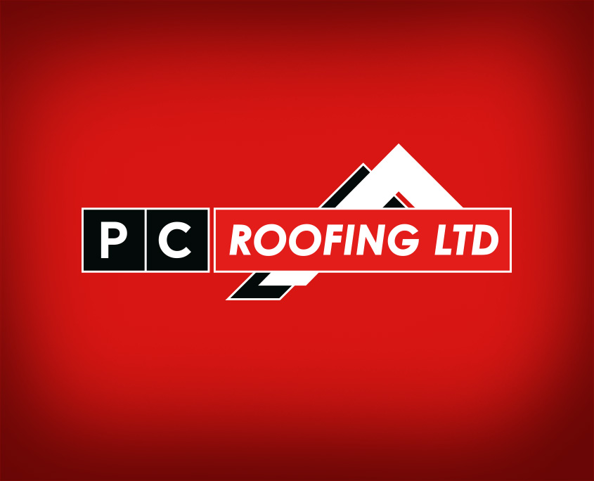 Pc Roofing Brand Identity Monkeplay
