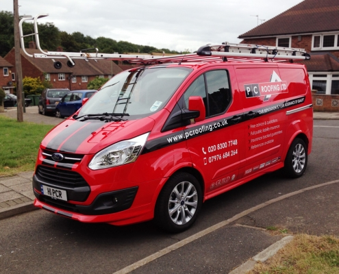 PC Roofing Van Design