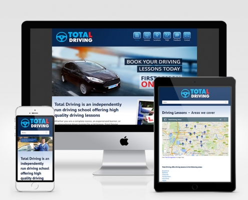 Total Driving Responsive Website Design