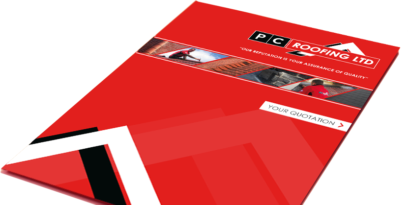PC Roofing Brochure Design
