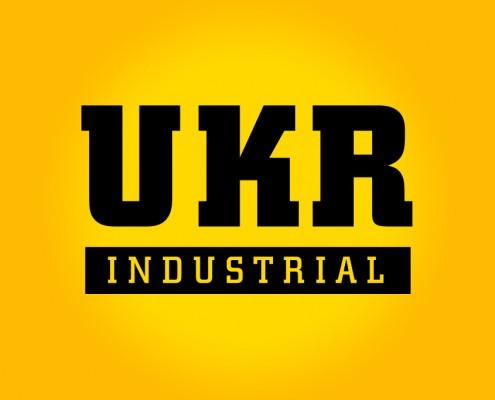 UKR Industrial Logo Design