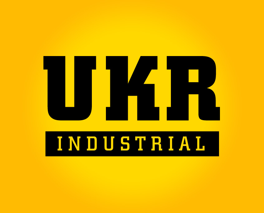 UKR Industrial Logo Design