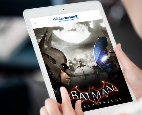 Localsoft Games Web Design
