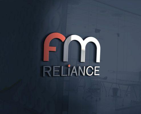 FM Reliance Logo Design