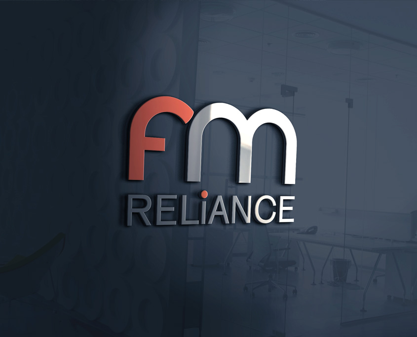 FM Reliance Logo Design