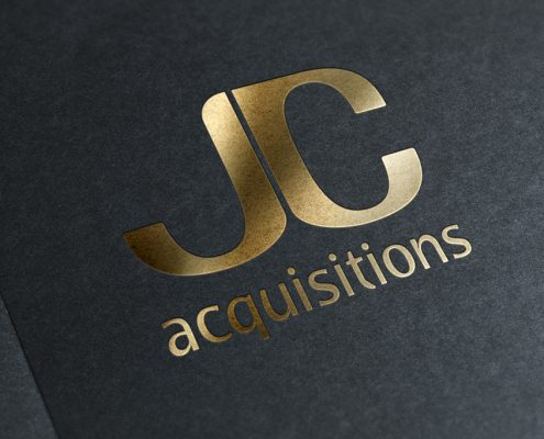 JC Acquisitions Logo Design