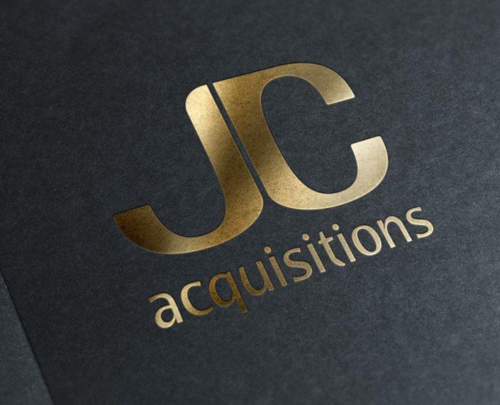 JC Acquisitions Logo Design