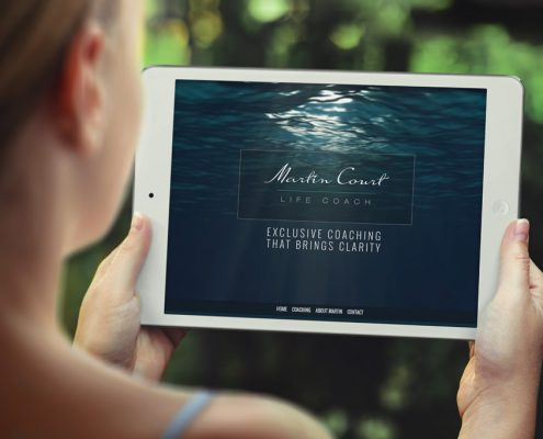 Martin Court Website Design