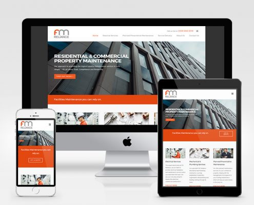 FM Reliance Website Design Orpington