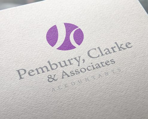 Pembury Clarke & Associates Logo Design Orpington