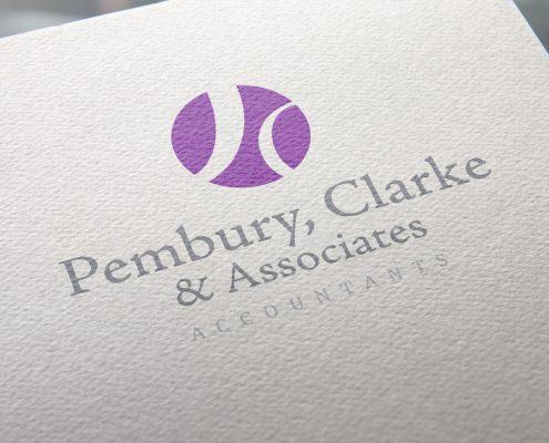 Pembury Clarke & Associates Logo Design