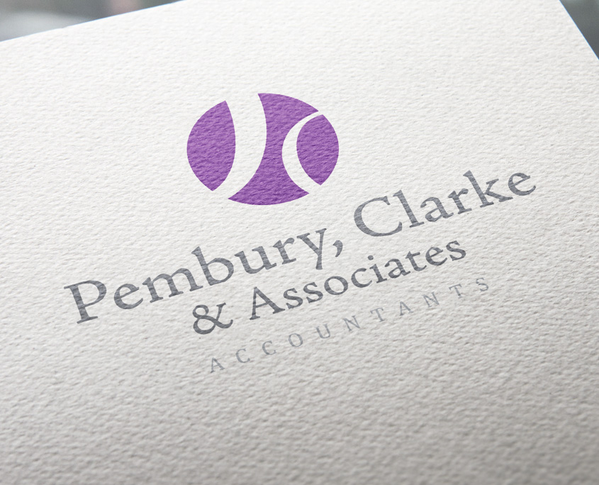 Pembury Clarke & Associates Logo Design