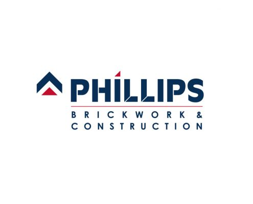 Phillips Brickwork & Construction Logo Design Orpington