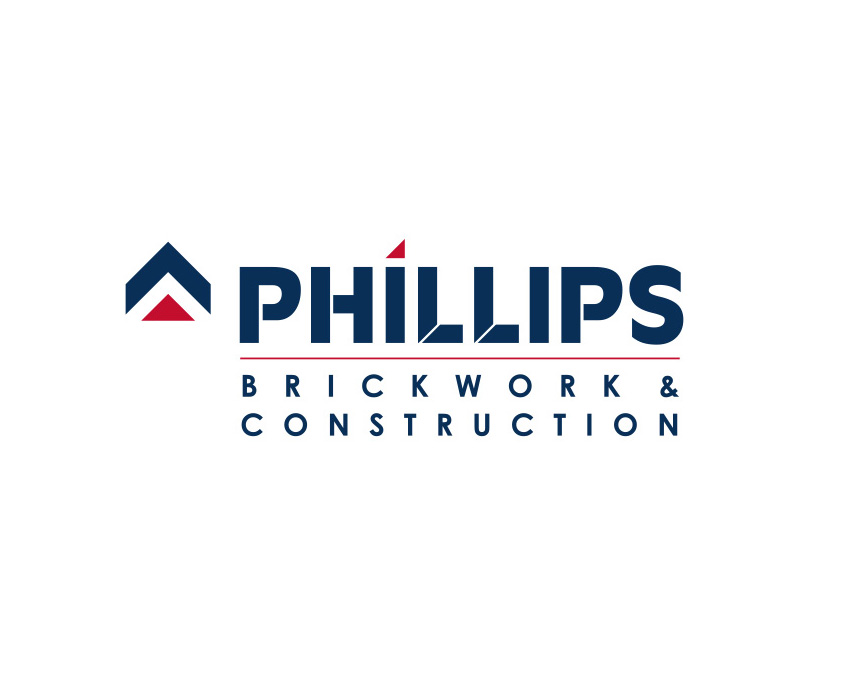 Phillips Brickwork & Construction Logo Design