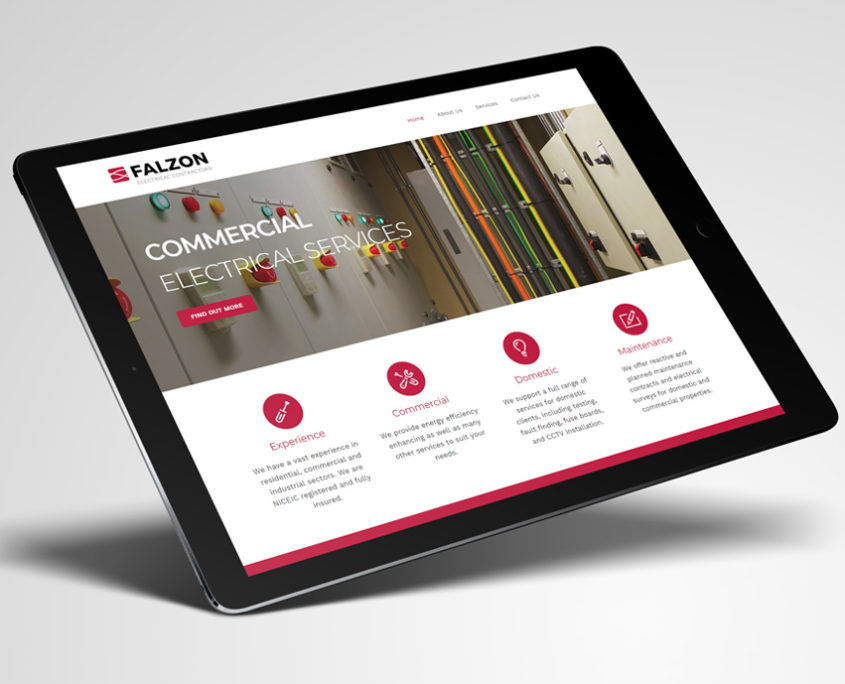 Falzon Electrical Web Design Essex