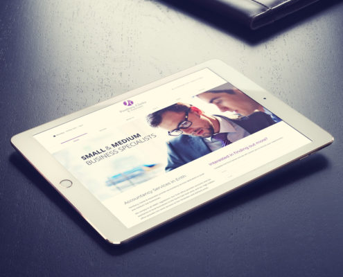 Pembury Clarke & Associates Accountants Web Design