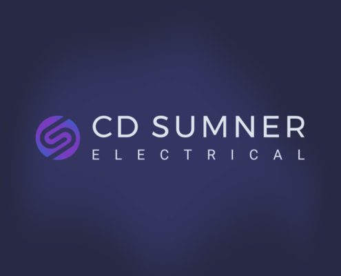CD Sumner Electrical Logo Design Orpington