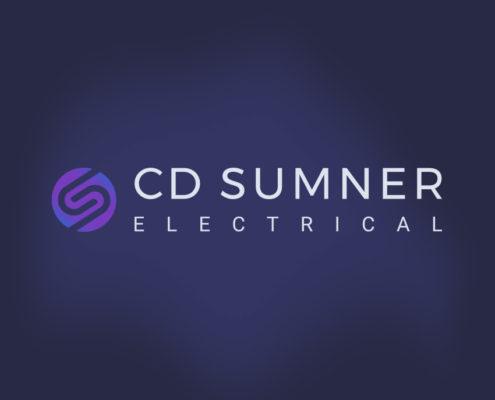 CD Sumner Electrical Logo Design Orpington