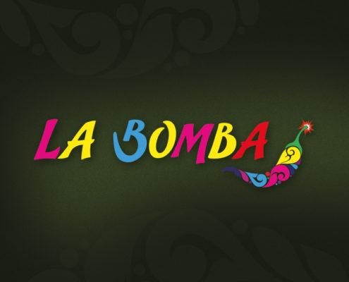 La Bomba Logo Design Orpington