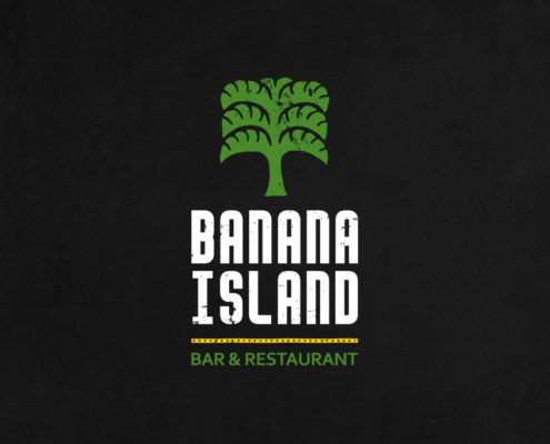 Banana Island Bar & Restaurant Logo Design