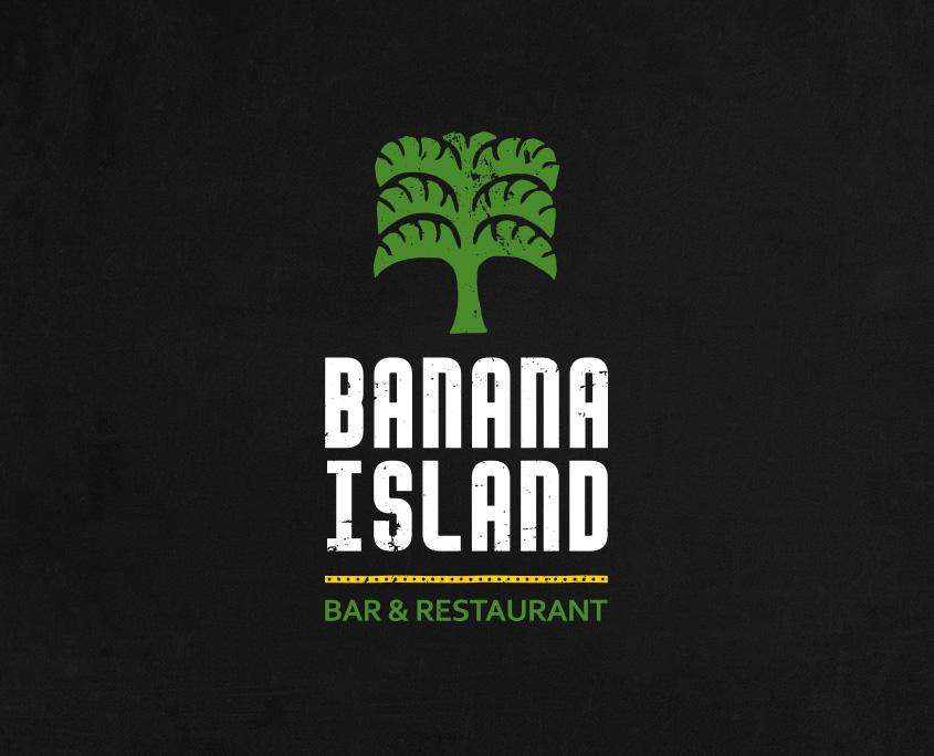 Banana Island Bar & Restaurant Logo Design London