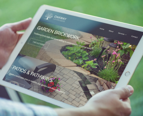 Oakway Landscapes Web Design Orpington